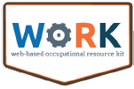 WORK - Web-based Occupational Resource Kit logo