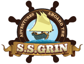 Adventures Aboard the S.S. Grin logo